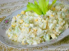 Vymeňte ryžu a zemiaky za tieto šaláty a kilá pôjdu dolu: Najlepšie šaláty na chudnutie a dobré trávenie! Russian Recipes, Cooking Light, Potato Salad, Cauliflower, Food And Drink, Health Fitness, Low Carb, Healthy Recipes, Vegetables