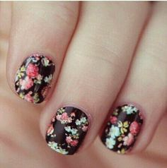 Collection featuring Nails Inc. Nail Polish and Essie Nail Polish Do It Yourself Nails, How To Do Nails, Cute Nails, Pretty Nails, Gorgeous Nails, Amazing Nails, Funky Nails, Perfect Nails, Hair And Nails