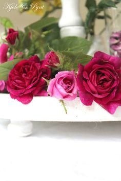 seidenfein 's Dekoblog: verführerisch ! Rosen zum anbeißen * Seductive ! Tasty roses