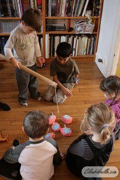 Fête d'anniversaire pour 4 ans | Ciloubidouille