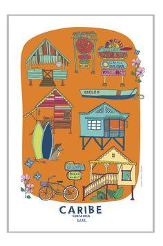 DAY 2: Holalola - CARIBE Poster #illustration #design
