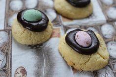 Süsse Osternester-Kekse