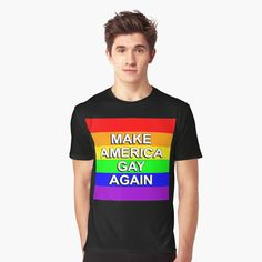 Equal Rights, Gay Pride, My T Shirt, Vivid Colors, Female Models, Chiffon Tops, Funny Tshirts, Lgbt, How To Make