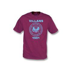Villans 1981 (Ramones-Style) (Aston Villa)