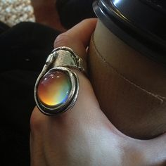 A cool mood ring