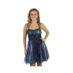 fit and flare glitter mesh short prom dress - debshops.com ($65) so wanted this for 8th grade grad but its not in my size