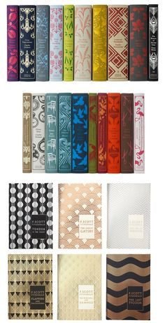 Penguin's New Classics Series and F.Scott Fitzerald Collection