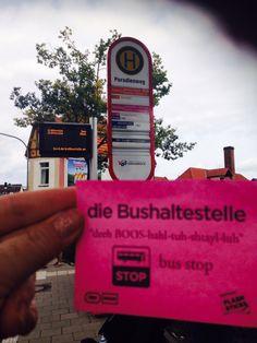 die Bushaltstestelle