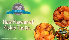 FREE HOME DELIVERY ALL INDIA  SPECIAL OFFER  Upto 20% off {New Flavour of pickle taste} @ ▶ Fast shop now> http://www.ratlamitadka.com/
