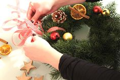 DIY wreath making :)