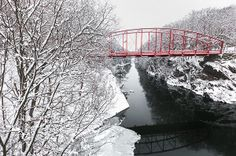 Lovers Leap bridge, New Milford CT