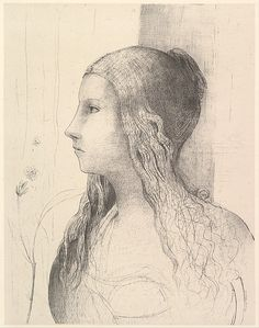 Odilon Redon (French, Bordeaux 1840–1916 Paris) Brunnhilde (The Twilight of the…