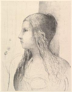 Odilon Redon (French, Bordeaux 1840–1916 Paris) Brunnhilde (The Twilight of the Gods), 1894