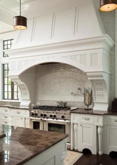 The kitchen we saw in the pilot but disappeared out of sight entirely by season 2