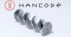 未来感あるハンコだこれ!自分の遺伝子情報を印鑑のデザインに「HANCODE」がステキ