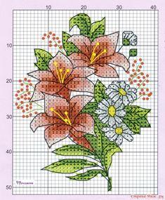 123 Cross Stitch, Small Cross Stitch, Cross Stitch Cards, Beaded Cross Stitch, Cross Stitch Flowers, Counted Cross Stitch Patterns, Cross Stitch Designs, Cross Stitching, Cross Stitch Embroidery