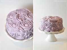 I've been wanting to make this rose cake  from I Am Baker for some time now, and celebrating our friend Cindy's birthday was the pe...