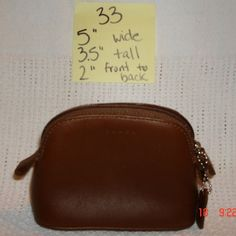 Nwot Coach Domed Top Cosmetic Bag