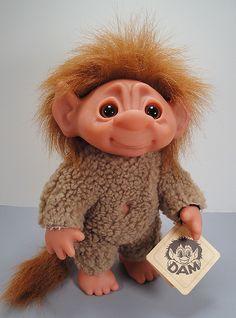 Dam Troll Tiny Tot by Toy Zoo, via Flickr