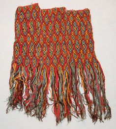 Rodrick Owen, and the Braids of the Mummies - Ancient braided textile, Peru 100BC-600 in British Museum's collections