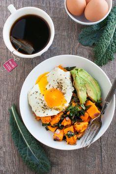 The Organic Dietitian_Kale and Butternut Squash Breakfast Bowl.jpg