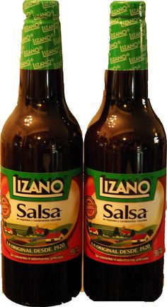 Two Lizano 700 mL, Costa Rican cooking