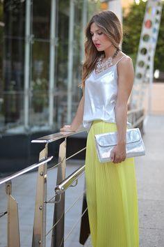SPECIAL OCCASION 22-7-2014  Top: Zara (S/S 14) Palazzo: Zara (S/S 14)