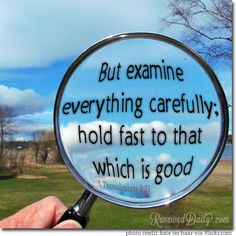 Recommendation Saturday: Examine Carefully Link Up