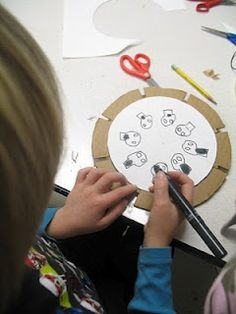 http://makeprojects.com/Project/Build-a-Phenakistoscope/347/1 http://pbskids.org/zoom/printables/activities/pdfs/phenakistoscope.pdf