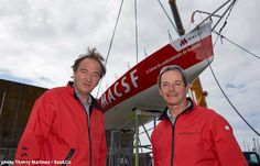"""Bertrand de Broc : """"Dernière ligne droite, je suis impatient de naviguer (...) - SeaSailSurf.com : L'actualité des sports de glisse #mer #voile #sport"""