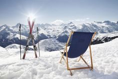 Check out Cross ski and sun-lounger at alps by Jakub Kostal on Creative Market