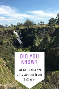 Lal Lal Reserve is located on Lal Lal Falls road. But just twenty minutes out of Ballarat and it is the perfect spot for a Picnic or Barbeque.