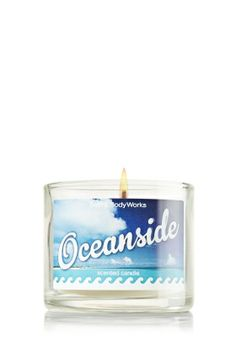 *Oceanside 1.3 oz. Mini Candle - Slatkin & Co. - Bath & Body Works