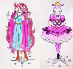 More Queens of Mewni by mangaka-neko-chan on DeviantArt
