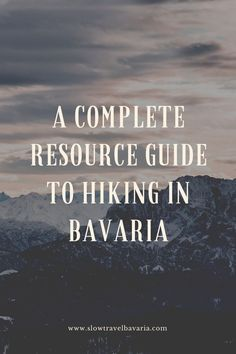 Hiking in Bavaria is without a sombre of a doubt a memorable experience every single time. A privileged location for anyone who loves the outdoors, Bavaria offers a wide variety of options and trails to choose from, from hillwalking to trail running to summit chasing. #Planningahike #hikinginbavaria #bavarianmountains #germany #bavaria #slowtravelbavaria
