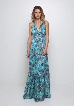 Μάξι φόρεμα εξώπλατο Dresses, Fashion, Vestidos, Moda, Fashion Styles, Dress, Fashion Illustrations, Gown, Outfits