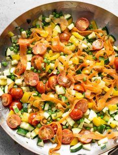 Veggie Recipes, Pasta Recipes, Soup Recipes, Vegetarian Recipes, Healthy Recipes, Recipe Pasta, Veggie Meals, Healthy Tips, Healthy Food