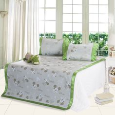 Mickey And Minnie Green Disney Summer Sleeping Mat Set Disney Bedding, Bedding Sets, Sleep, Summer, Furniture, Home Decor, Summer Time, Decoration Home, Room Decor