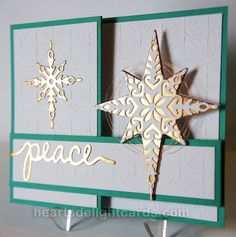 Heart's Delight Cards: Holiday Catalog Sneak Peek FREAK Out! Christmas Cards 2017, Homemade Christmas Cards, Christmas Scrapbook, Christmas Greetings, Homemade Cards, Handmade Christmas, Holiday Cards, Christmas Star, Christmas 2016