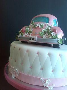 tarta de boda volswagen