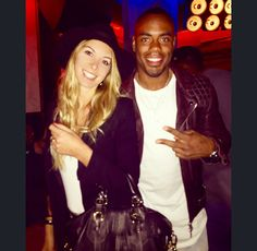 me and Rashad Jennings at the charity event in NYC tonight! Always with my Zenati