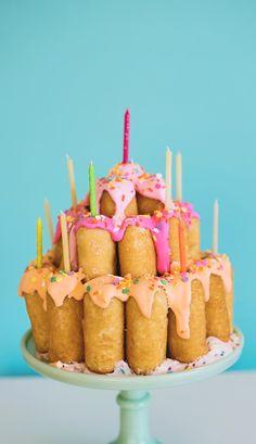 Otis Spunkmeyer Crème Cake Birthday Cake