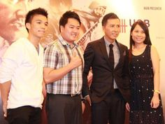 """""""Special ID"""" Press Conference and sharing session.  Donnie Yen and his fans."""
