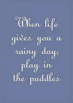 inspirational quotes about rainy days quotesgram