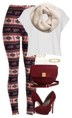 """""""fall has arrived """" by princessrashi ❤ liked on Polyvore featuring The Code, Michael Antonio, Forever 21, Tiffany & Co. and H&M"""