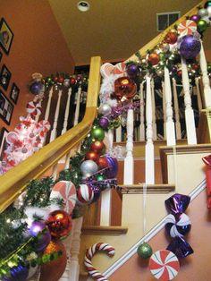 My foyer stairs 2011 AMG Design Studio