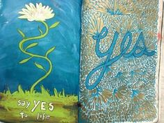 from Keri Smith's Wreck This Journal-- I believe the assignment was to write what your sign said. (by rowena murillo)