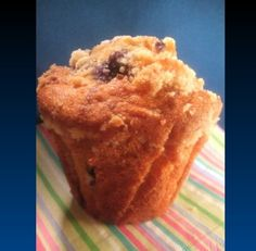 Spelt Blueberry Muffins With Struesel Topping Recipe - Food.com