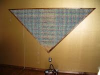 Helpful hints on making a large (7') triangle loom