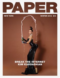 "Kim Kardashian Is Trying to ""Break the Internet"" With Her Bare Butt. #kimkardashian #breaktheinternet"